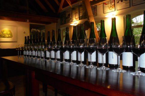 alle wijnen van rood naar wit
