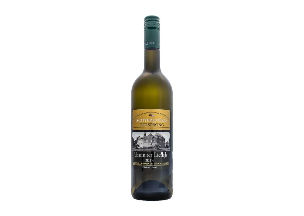 witte wijn met een licht zoete afdronk